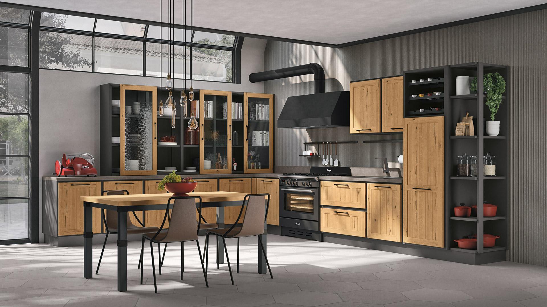 7 Provenza Honey Oak - italian kitchen (3)